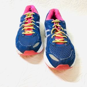 ASICS Gel IGS electric blue running shoes size 10